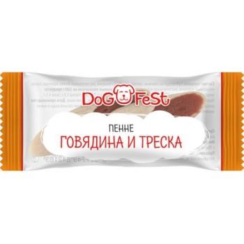 Dog Fest / Дог Фест Пенне ГОВЯДИНА И ТРЕСКА 6 гр х 20 шт