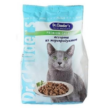 Dr.Clauder's / Др.Клаудер'c Корм сух.д/кошек из морепродуктов 400гр