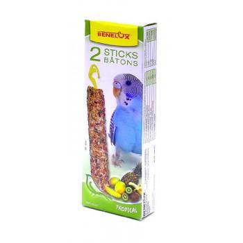 Benelux / Бенелюкс Палочки для волнистых попугайчиков тропическими фруктами 16245