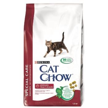 """Cat Chow / Кэт Чоу """"Special Care"""" сухой 1,5 кг для кошек с Мочекаменной Болезнью"""