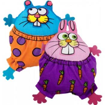 Fat Cat Игрушка д/кошек - Толстый забавный зверек, мягкая, Zoom Stuffers Catnip Toy