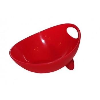 Ziver / Зивер 413 Миска дизайнерская , M, 700мл, красный