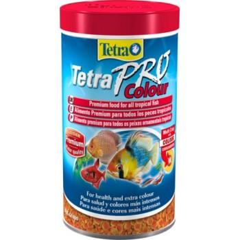 TetraPro / Тетра Color Crisps корм-чипсы для улучшения окраса всех декоративных рыб 500 мл