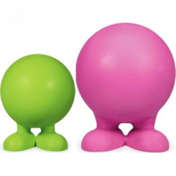 JW Игрушка д/собак - Мяч на ножках с рожками, каучук, маленькая Bad Cuz, small (43166)