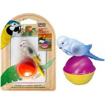 Penn-Plax / Пен-Плакс Игрушка для птиц Птичка на шарике (1х12) ВА537