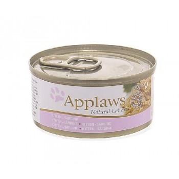 Applaws / Эпплаус Консервы для Котят с Сардинками (Kitten sardine) 70 гр