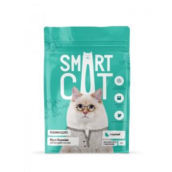 Smart Cat / Смарт Кэт сухой корм для стерилизованных кошек с курицей, 0.4 кг