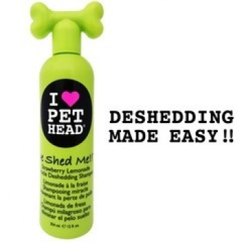"""Pet Head Шампунь клубнично-Лимонадный """"Чудо-линька"""" для линяющих Собак, без сульфатов и парабенов (DE SHED ME) PH10114"""