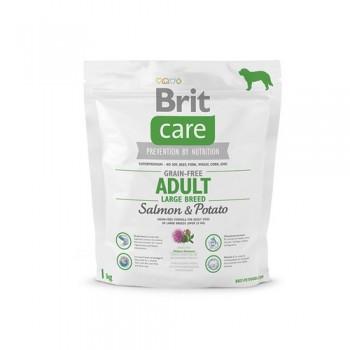 Brit / Брит Care Salmon & Potato Adult LargeBreed беззерн, д/взросл,собак крупн, Пород, 1 кг