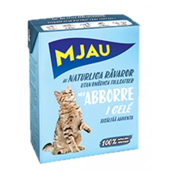 Mjau / Мяу мясные кусочки в желе с окунем в упаковке Tetra Recart, 380гр. (1х16) 3808