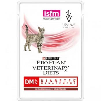 Purina / Пурина PVD д/к пауч 85г DM при диабете.говядина