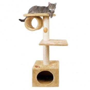 "Trixie / Трикси Домик д/кошки ""San Fernando"" с 2-мя площадками и трубой 106см 43951"