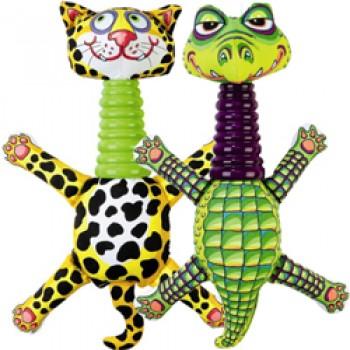 Fat Cat Игрушка д/собак - Забавное животное с длинной шеей, маленькая, мягкая,, Rubber Neckers Mini Dog Toy (630038)