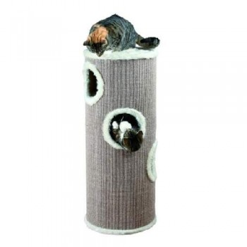 "Trixie / Трикси 4338 Домик-башня д/кошки ""Edorado"" ф40/100см коричневый/беж."