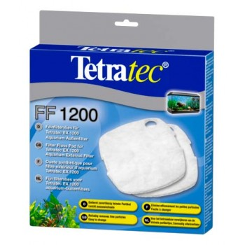 Tetra / Тетра FF 1200 губка синтепон для внешнего фильтра Tetra / Тетра EX 1200 2 шт.
