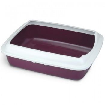 Triol / Триол Туалет CT04 для кошек прямоугольный с бортом, 505*390*150мм