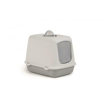 I.P.T.S. 400469 Oscar Туалет-домик д/кошек серый 50*37*39см