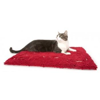 Dog Gone Smart / Дог Гон Смарт коврик д/кошек супервпитывающий L, 66*89см, красный