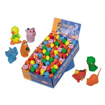 Nobby / Нобби Игрушка для собак Зверюшки 5-6 см дисплей 84 шт. 67006