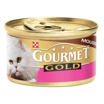 Gourmet Gold / Гоурмет Голд для кошек Говядина мусс 85 гр