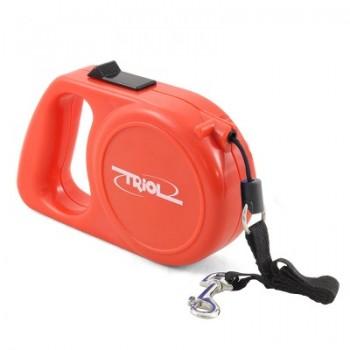 Triol / Триол FD9006 Поводок-рулетка, 5м до 25кг, трос