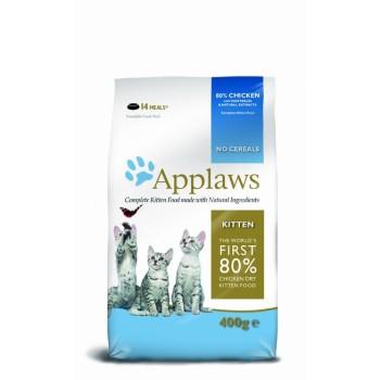 "Applaws / Эпплаус для котят ""Курица/Овощи: 80/20%"" 0,4 кг"