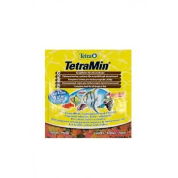 TetraMin / Тетра корм для всех видов рыб в виде хлопьев 12 г (sachet)