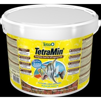 TetraMin / Тетра корм для всех видов рыб в виде хлопьев 10 л (ведро)