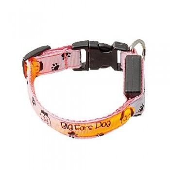 V.I.Pet Ошейник с USB-зарядкой светящ. «Собачки и лапки», 15мм, (18-28см) 14-3400US 14-3400US