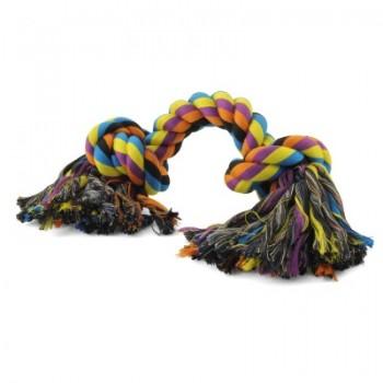 """Triol / Триол Игрушка для собак """"Веревка, 2 узла"""", 180мм"""
