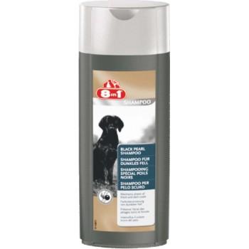 8in1 шампунь для собак Black Pearl Shampoo для темных окрасов 250 мл