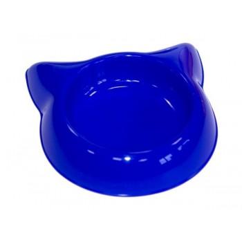 """Yami-Yami / Ями-Ями Миска """"Кошка"""" пластиковая, 16см, 250мл (2233)"""