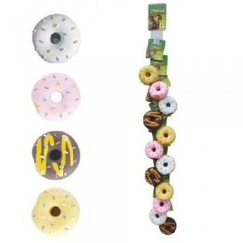 """Triol / Триол Набор игрушек для собак из латекса """"Пончики"""", d70мм (12шт.)"""