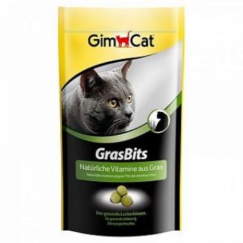 """Gimcat / ГимКэт Лакомства витаминиз.""""Грасбитс"""" с травой д/кошек, 40г"""