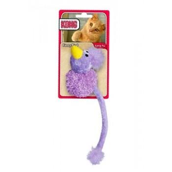 """Kong / Конг игрушка для кошек """"Птичка с хвостом"""" с кошачьей мятой текстиль"""