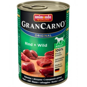 Animonda Cran Carno Original Adult конс. 400г - с говядиной и дичью для взрослых собак 82736