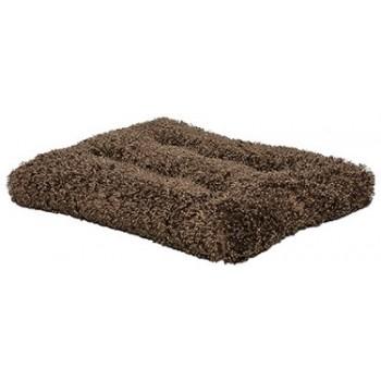 Midwest / Мидвест лежанка Bagel Bed Deluxe плюшевая с завитками 72х72х20 см круглая мокко