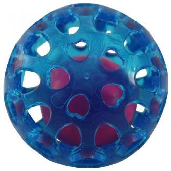 """Triol / Триол Игрушка для собак из термопласт. резины """"Сфера с шариком"""", d65мм"""