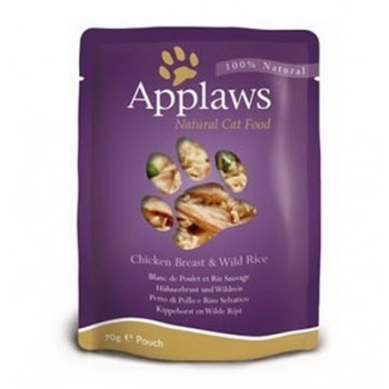 Applaws / Эпплаус паучи для кошек с Курицей 0,07 кг