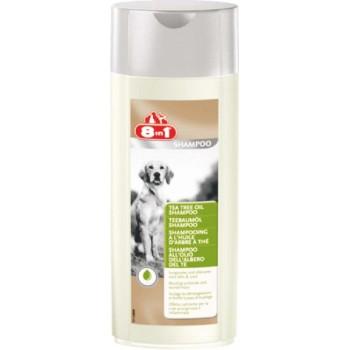 8in1 шампунь для собак Tea Tree Oil Shampoo с маслом чайного дерева 250 мл