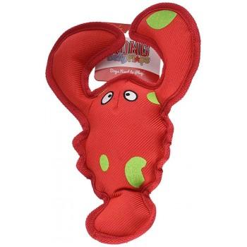Kong / Конг игрушка для собак Belly Flops Лобстер 21х9 см