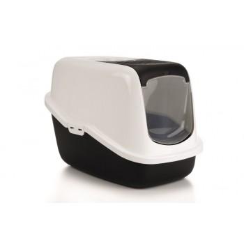 I.P.T.S. 400466 Nestor Туалет-домик д/кошек черный 56*39*39см