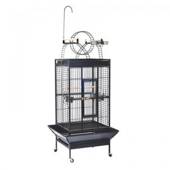 Triol / Триол Клетка BC18-1 для птиц, эмаль, черная, 830*770*1780мм