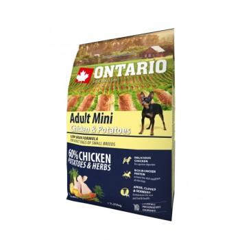Ontario / Онтарио для собак малых пород с курицей и картофелем 2,25 кг