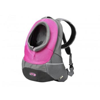 Crazy Paws Sport De Lux Переноска-рюкзак L, 41,5х17,5х43см, до 5кг, розов, DPETC022-PK (4460)