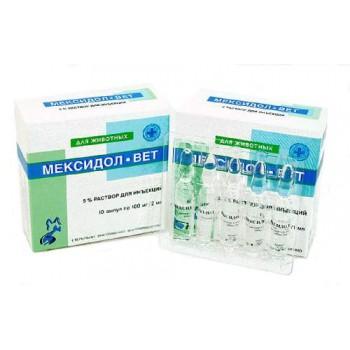 Мексидол-вет Терапия сердечно-сосудистой и сердечно-легочной недостаточности 2 мл(10 шт)