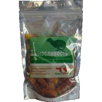 Green Qzin / Грин Кьюзин 034 Лакомство д\собак Выносливость (сушеное утиное мясо на ломтике батата) 150гр