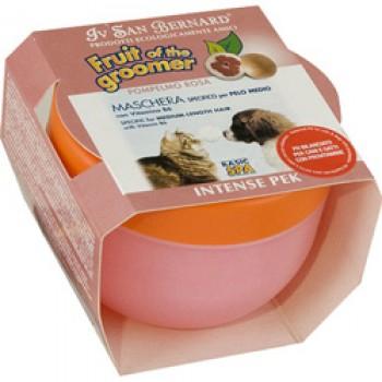 Iv San Bernard / Ив Сан Бернард Fruit of the Grommer Pink Grapefruit Маска Розовый грейпфрут с витаминами д/собак и кошек для шерсти средней длины 0,25л