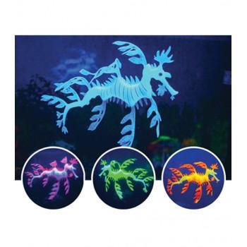Jelly-Fish / Джелли-Фиш Морской дракон силиконовый, светящийся в темноте, 19*15*2 см