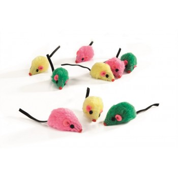"""I.P.T.S. 430348 набор игрушек д/кошек """"Мышь плюшевая"""" 5см (блистер)"""